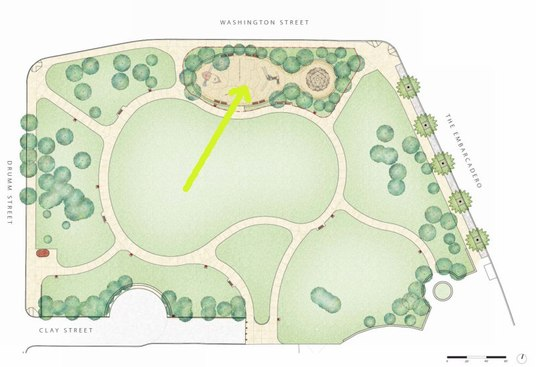 Waterfront Playground Plan View